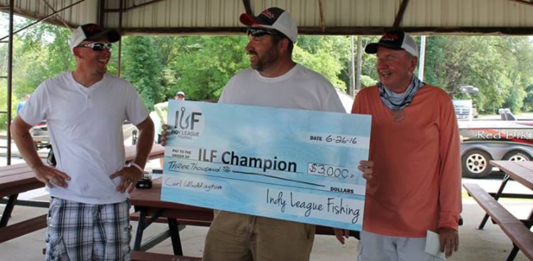 ILF Angler Carl Waddington 2016 TFO Challenge Champion