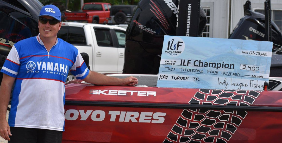 ILF Angler Ray Turner Jr 2017 Kahlo KUP Series 1 Champion