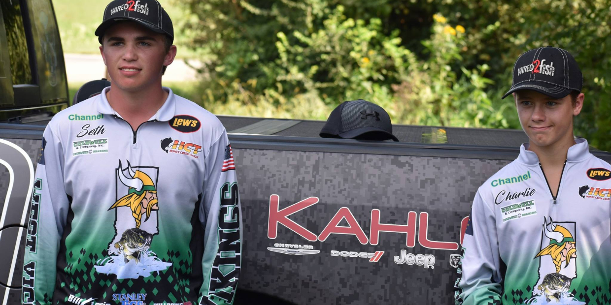 ILF Anglers 2018 High School Team Scholarship Champion